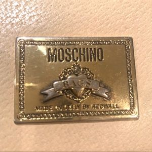 Moschino Redwall Vintage Muiti-Color Leather bag